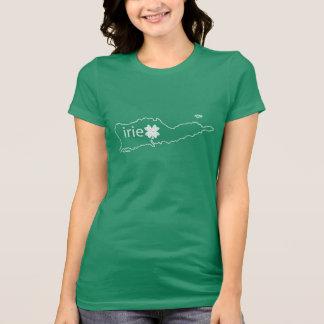 St Croix St Patrick's Day T   Irie in Irish T-Shirt