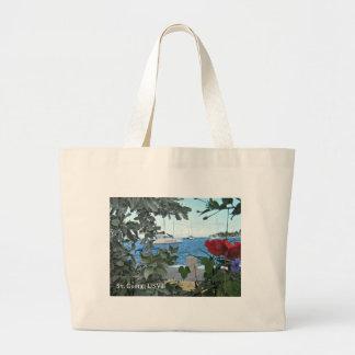 St. Croix USVI Jumbo Tote Bag