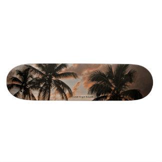 St. Croix Virgin Islands Palms Skateboard