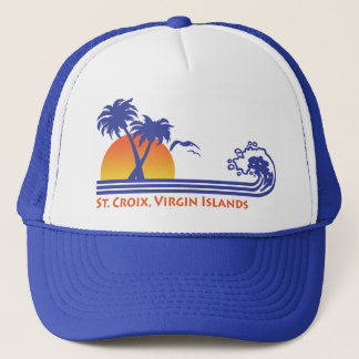 St. Croix Virgin Islands Trucker Hat