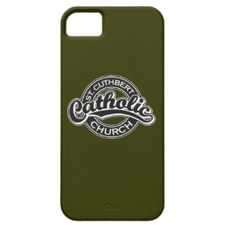 St. Cuthbert Catholic Church Black and White iPhone 5 Cases