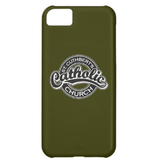 St. Cuthbert's Catholic Church Black and White iPhone 5C Case