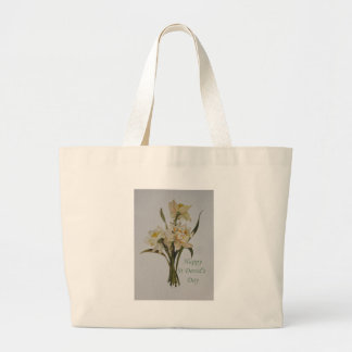 St David's Day Daffodils Large Tote Bag