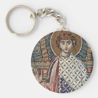 St. Demetrius By Meister Der Demetrius-Kirche In S Key Ring