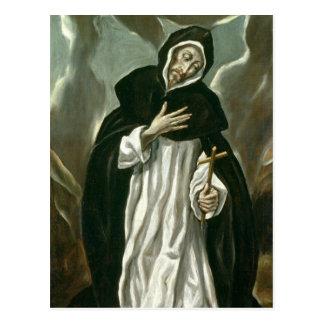 St.Dominic of Guzman Postcard