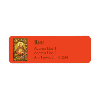 St. Dominic (PM 02) NB Return Address Label 1a