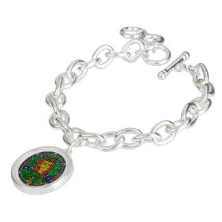St. Dymphna Charm Bracelet