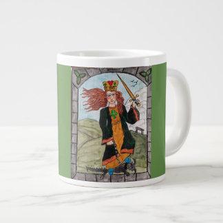 St Dymphna, Patron Saint of Mental Afflictions Large Coffee Mug