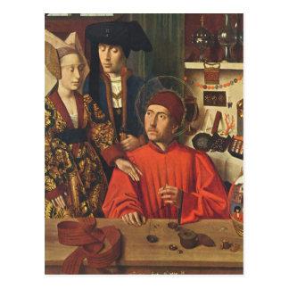 St Eligius as a Goldsmith Postcard