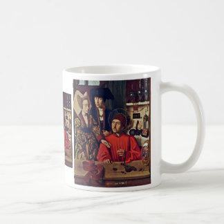 St. Eligius In His Goldsmith Workshop,  By Christu Coffee Mug