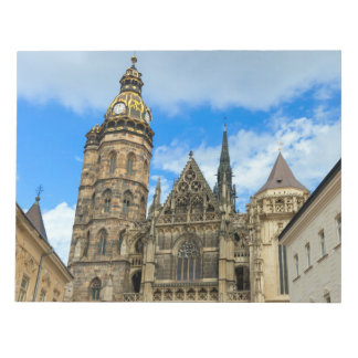 St. Elisabeth Cathedral in Kosice, Slovakia Notepad