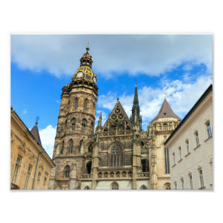 St. Elisabeth Cathedral in Kosice, Slovakia Photo Print