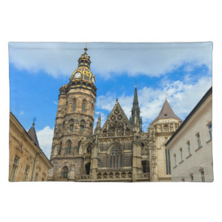 St. Elisabeth Cathedral in Kosice, Slovakia Place Mat