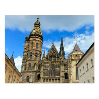 St. Elisabeth Cathedral in Kosice, Slovakia Postcard
