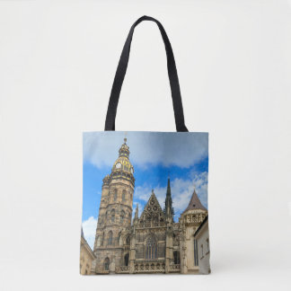 St. Elisabeth Cathedral in Kosice, Slovakia Tote Bag