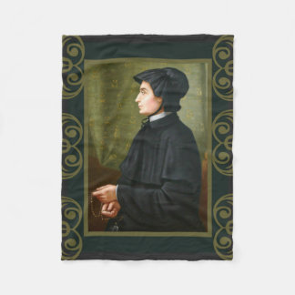 St. Elizabeth Ann Seton Sister Rosary Charity Fleece Blanket