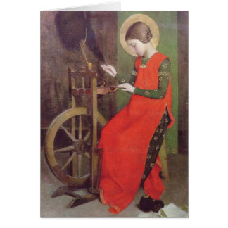 St Elizabeth of Hungary by Marianne Stokes Card