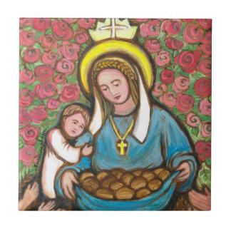 St Elizabeth of Hungary Tile