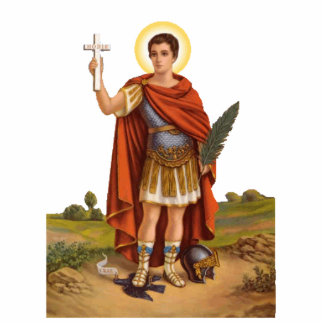 St. Expedite Photo Sculpture