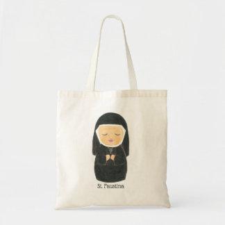 St. Faustina Tote Bag