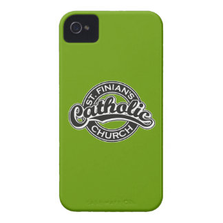St. Finian's Catholic Church Black and White iPhone 4 Cases