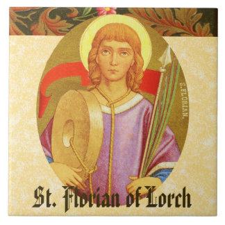 St. Florian of Lorch (PM 03a) Large Square Tile