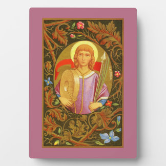 """St. Florian (PM 03) 5""""x7"""" Plaque #1 with Easel"""
