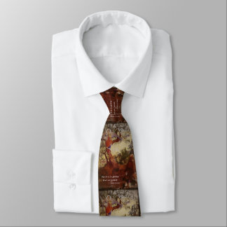 St Frances Angel and Birds Tie
