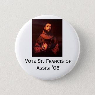 St. Francis '08 6 Cm Round Badge
