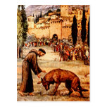 St Francis and the Wolf Post Cards