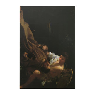 St. Francis by Caravaggio Acrylic Wall Art