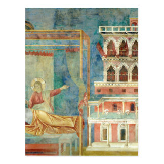 St. Francis Dreams of a Palace full of Weapons Postcard