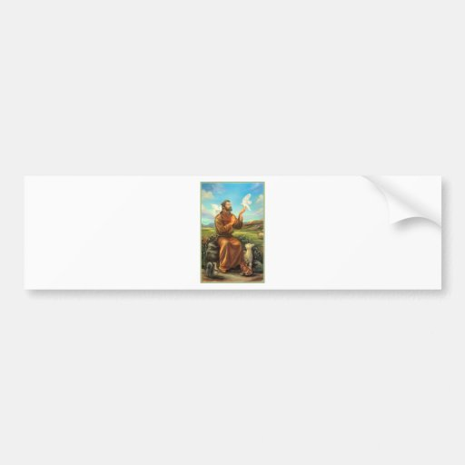 St. Francis Full-color Tee, Tie, Mug, Samsung Case Bumper Stickers