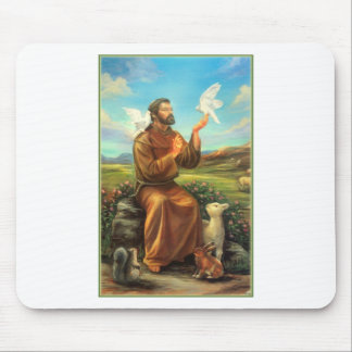 St. Francis Full-color Tee, Tie, Mug, Samsung Case Mouse Pads