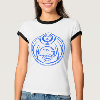 St Francis Hospice for cats blue logo T-Shirt
