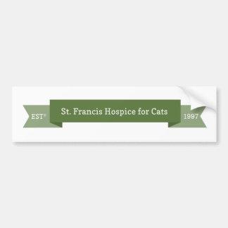 St francis hospice logo bumper sticker