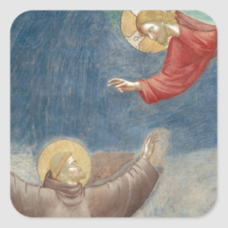 St. Francis Jesus keychain mug ipod ipad cover pet Stickers