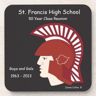 St Francis Logo class reunion Beverage Coaster