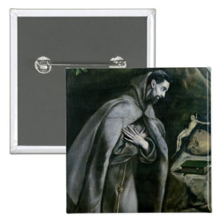 St Francis of Assisi 1580-95 Pins