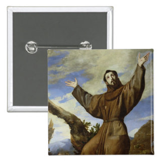 St Francis of Assisi 1642 Buttons
