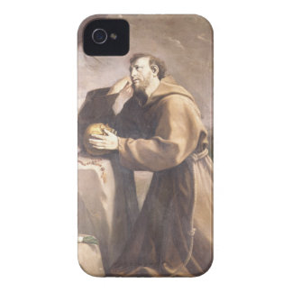 St Francis of Assisi at Prayer Case-Mate iPhone 4 Cases