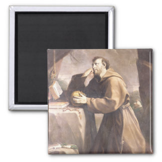 St. Francis of Assisi at Prayer Fridge Magnet