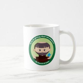 St. Francis of Assisi Basic White Mug