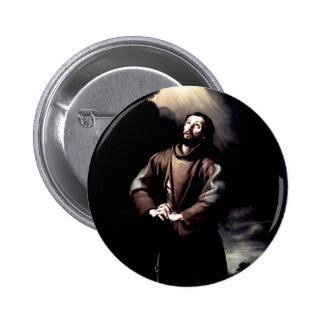 St Francis of Assisi Button