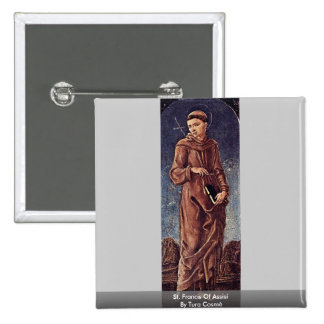 St Francis Of Assisi By Tura Cosmè Pin