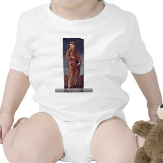 St. Francis Of Assisi By Tura Cosmè Baby Bodysuit