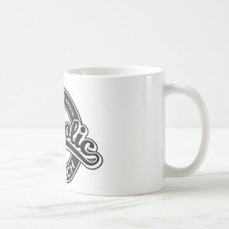 St. Francis of Assisi Catholic Church Black White Mug