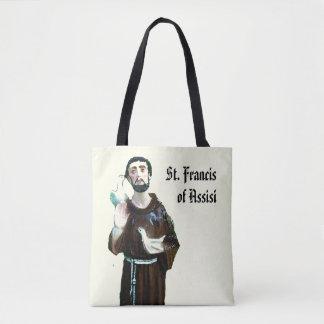 St. Francis of Assisi Catholic Saint Tote Bag