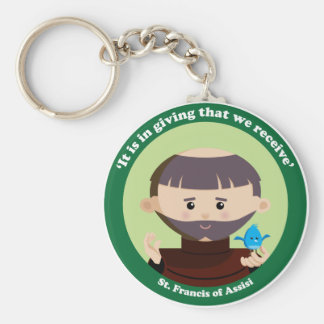 St. Francis of Assisi Key Ring