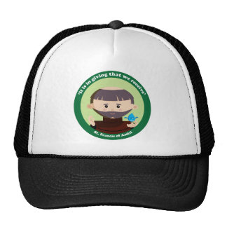 St Francis of Assisi Mesh Hats